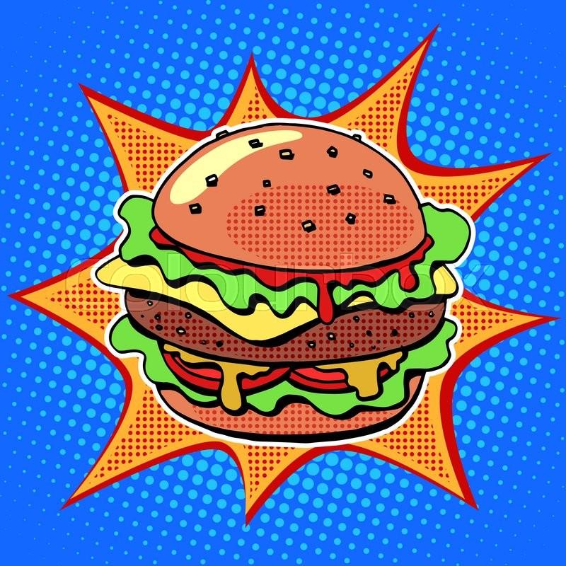 burger comics